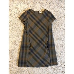 4/$25 - Zara Kids Plaid Dress.